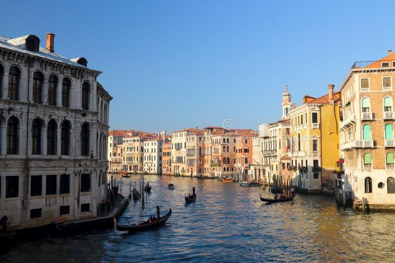 Vatten Venedig fotografering för bildbyråer