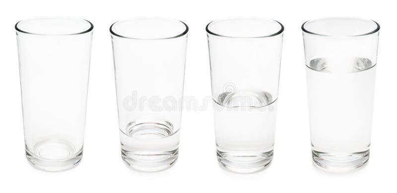 Vattenexponeringsglas fotografering för bildbyråer