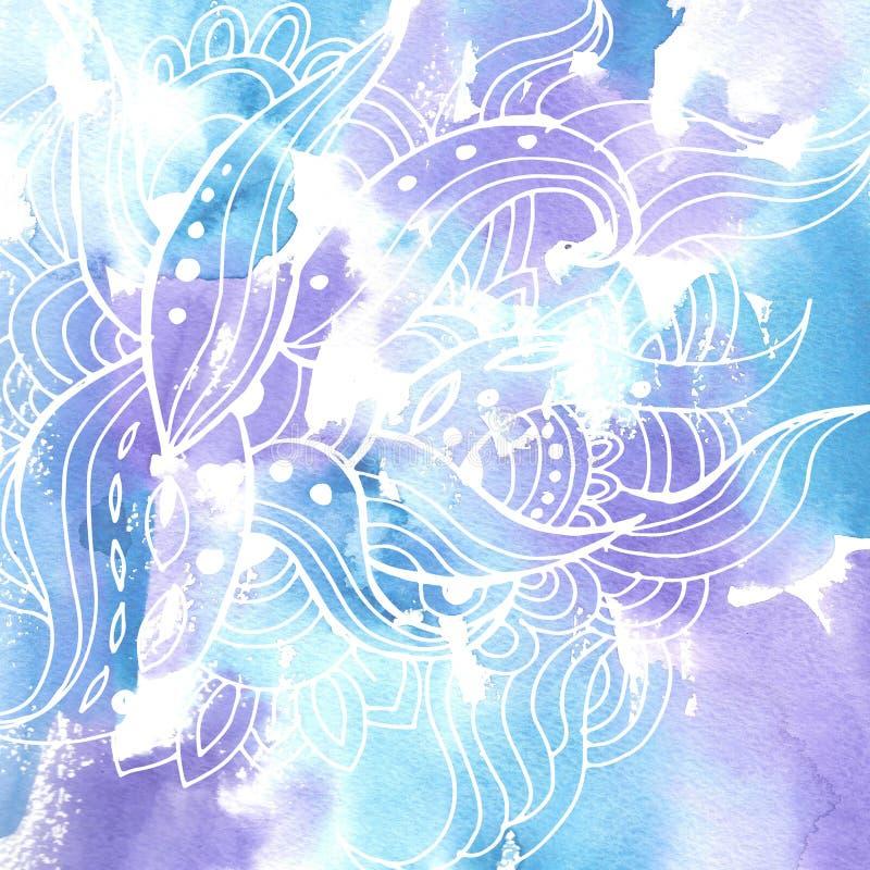 Vattenfärg background11 vektor illustrationer