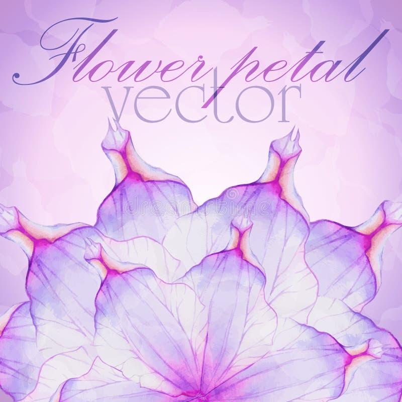 Vattenfärg som hälsar det blom- kortet royaltyfri illustrationer