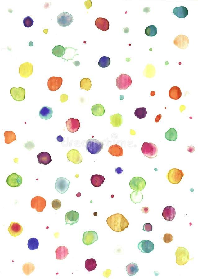 Vattenfärgbakgrund arkivbild