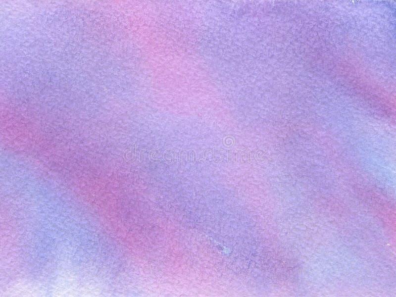 Vattenfärgbakgrund med pappers- textur arkivfoto