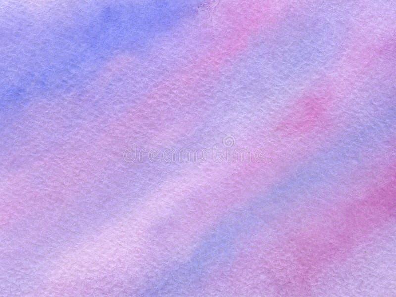 Vattenfärgbakgrund med pappers- textur arkivbilder