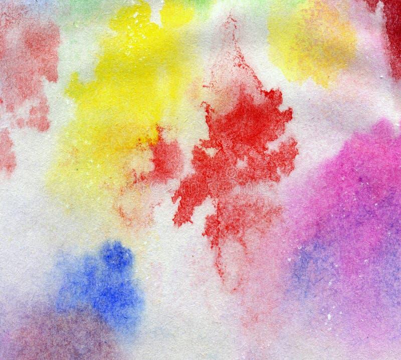 Vattenfärgbakgrundstextur arkivfoton