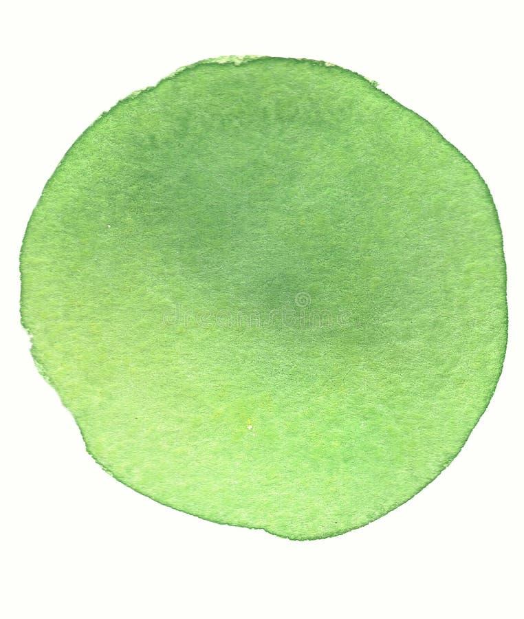Vattenfärgcirkel arkivfoto