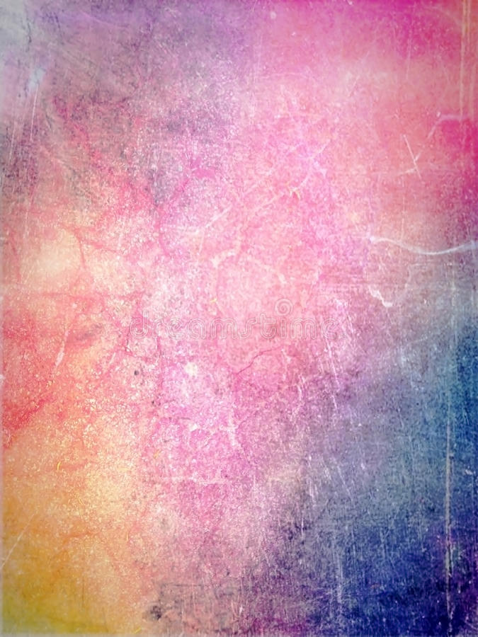 Vattenfärgmålarfärg på gammalt papper festlig abstrakt bakgrund arkivbilder