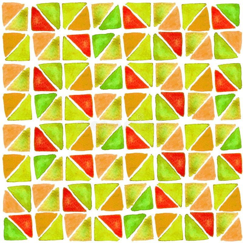 Vattenfärgtryckträsko vektor illustrationer