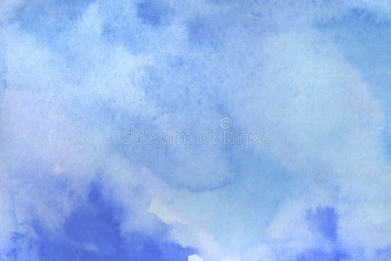 vattenf?rgbakgrundsillustration E vektor illustrationer