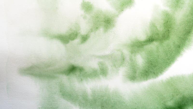 vattenf?rgdroppander abstrakt m?lning Bakgrund royaltyfri illustrationer