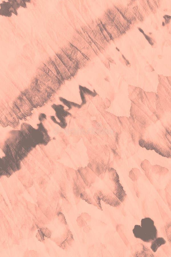 Vattenf?rgtryck Grey Artistic Dirty Canva arkivfoto