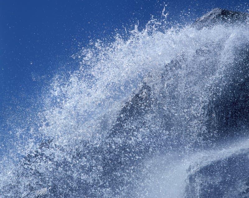 Download Vattenfall fotografering för bildbyråer. Bild av vått, natur - 244917