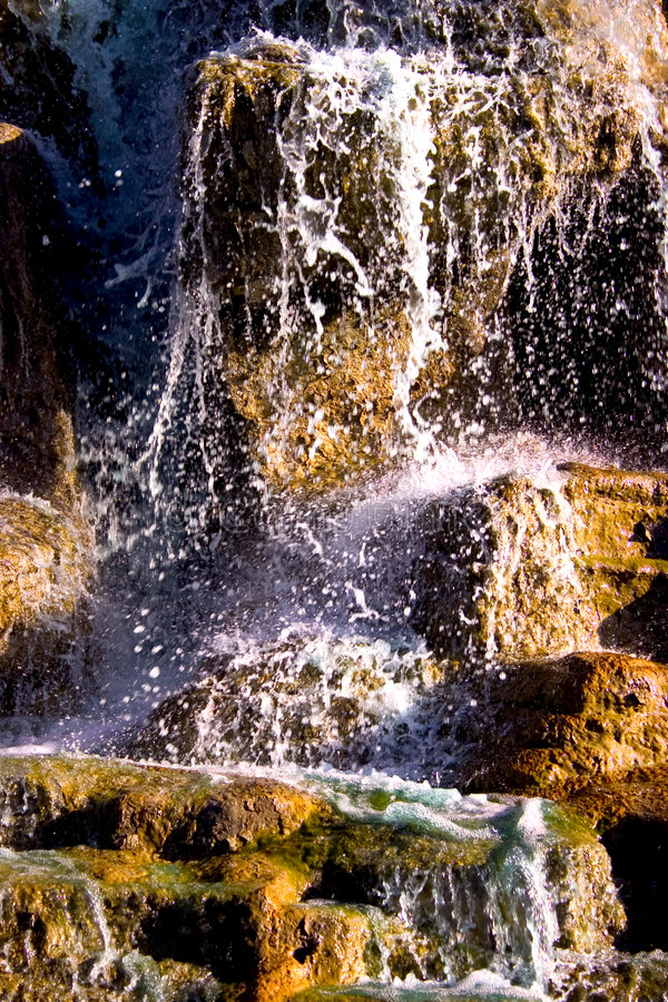 Download Vattenfall fotografering för bildbyråer. Bild av miljö, fjäder - 30949