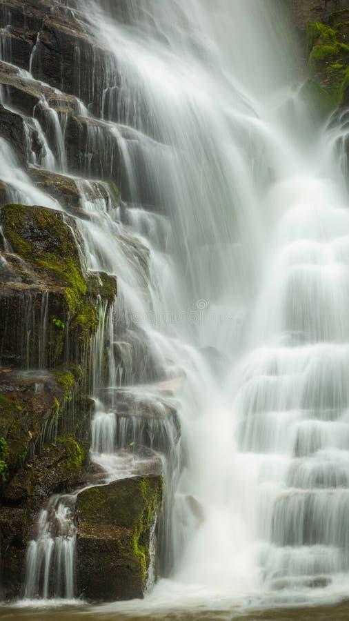 Vattenfall av North Carolina arkivfoto