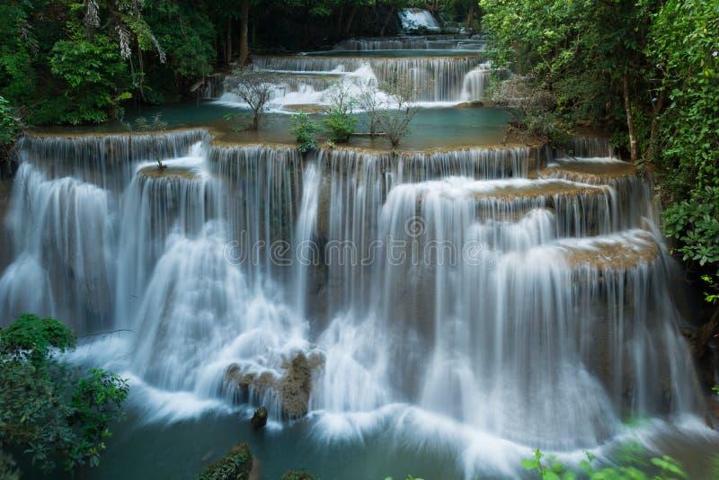 Vattenfall för Huay maekhamin royaltyfri foto