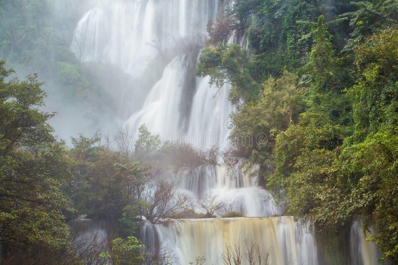 vattenfall för losu-thi royaltyfria foton