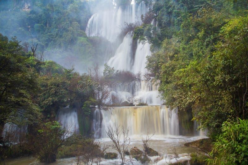 vattenfall för losu-thi arkivbild