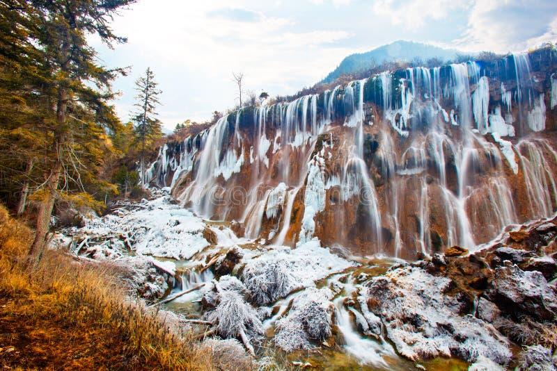 vattenfall för 2 nuorilang arkivfoto