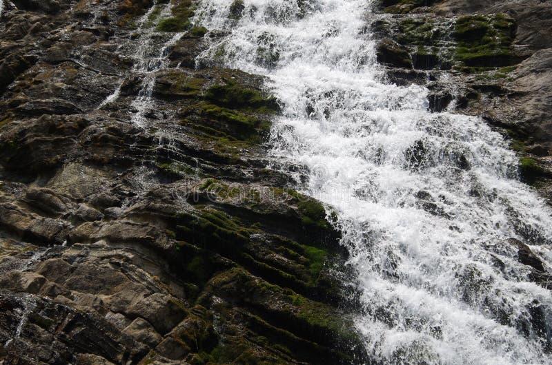 Vattenfall i April royaltyfria foton