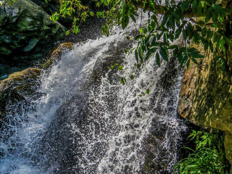 Vattenfall i Ella-Bandarawela, Sri Lanka arkivfoton