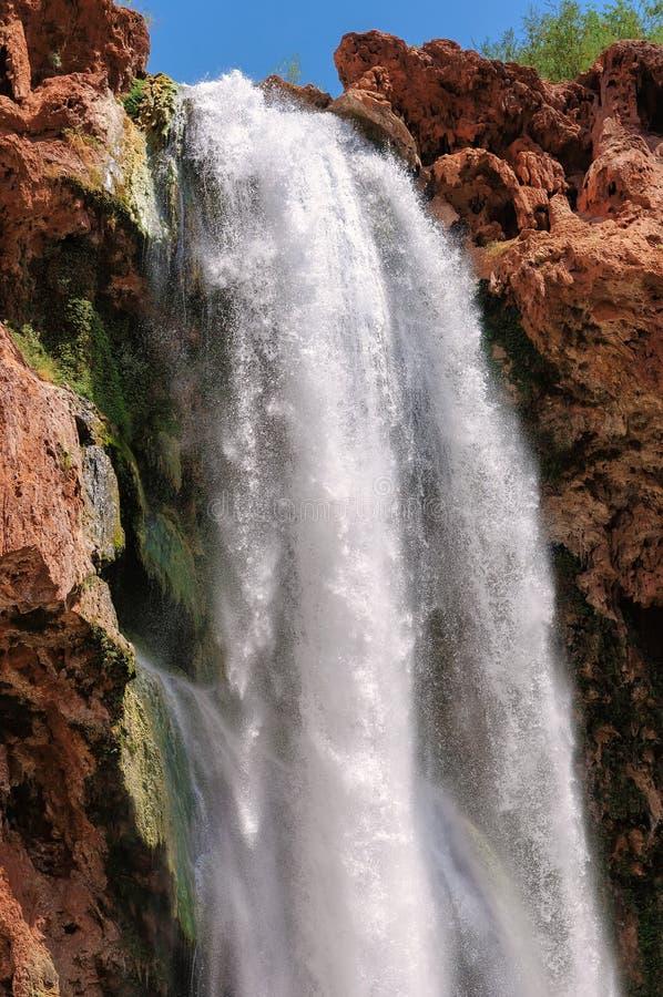 Vattenfall i Grand Canyon, Arizona royaltyfria bilder