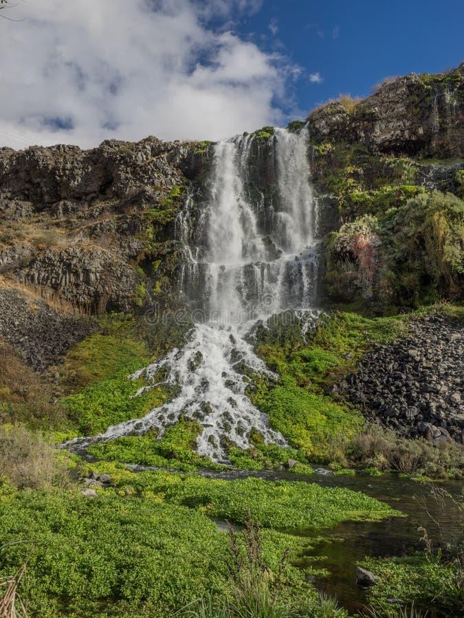 Vattenfall i Idaho arkivfoton