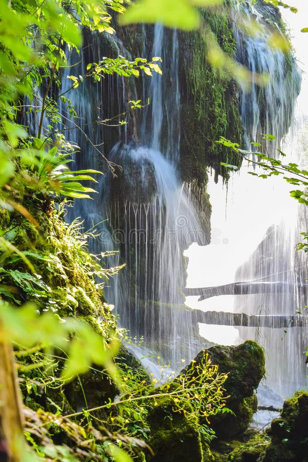 Vattenfallen av Slunj royaltyfri fotografi