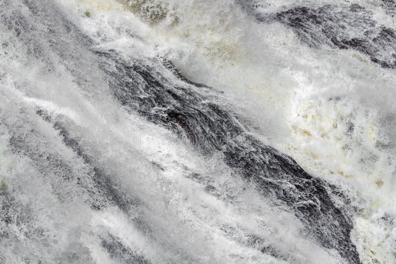 Vattenfallforsar arkivfoto