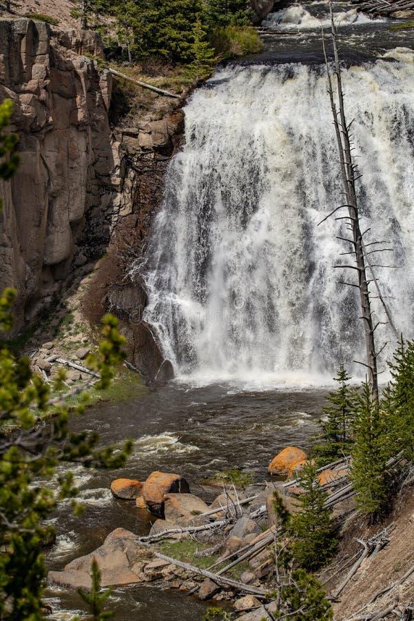 Vattenfallforsar royaltyfri fotografi