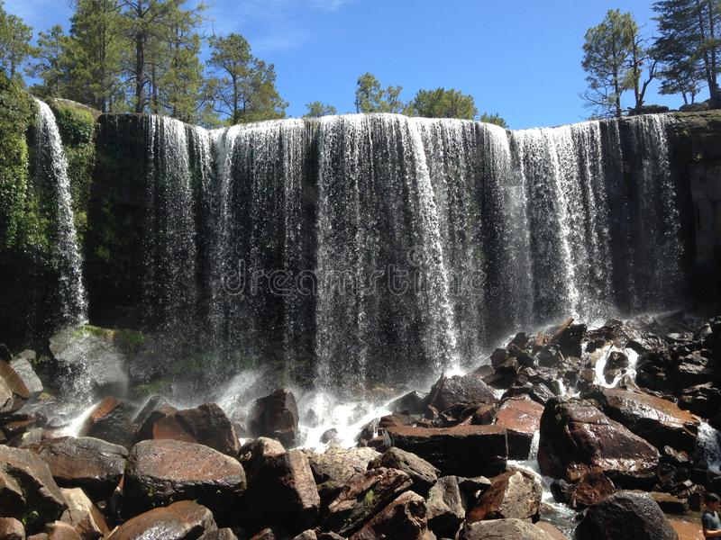 Vattenfallmexiquillo arkivbild