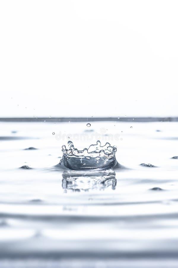 Vattenfallsbakgrund royaltyfri bild
