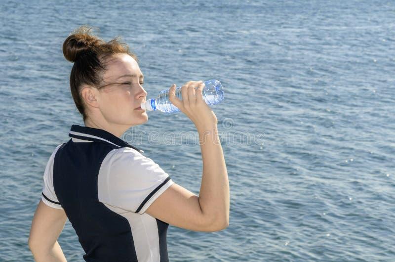 Vattenflicka royaltyfri foto