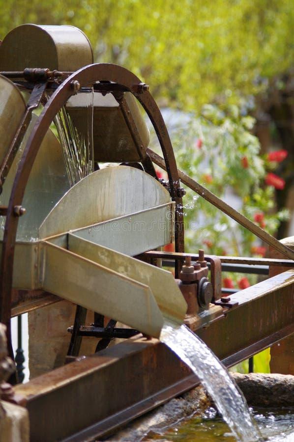 vattenhjul arkivfoto