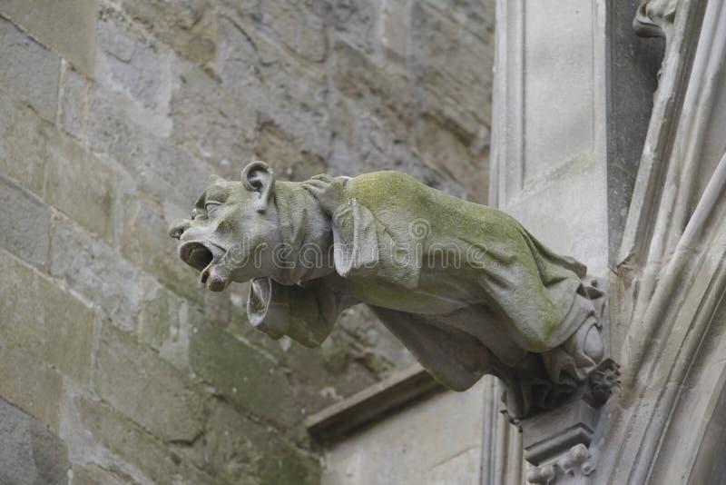 Vattenkastare - Carcassonne, Frankrike arkivbilder
