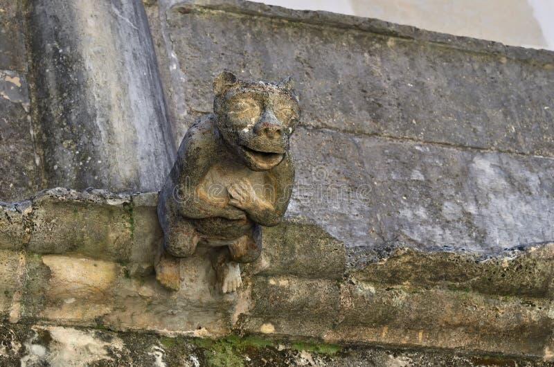 Vattenkastare i kloster av beställningen av Kristus, Tomar, Portugal, royaltyfria foton