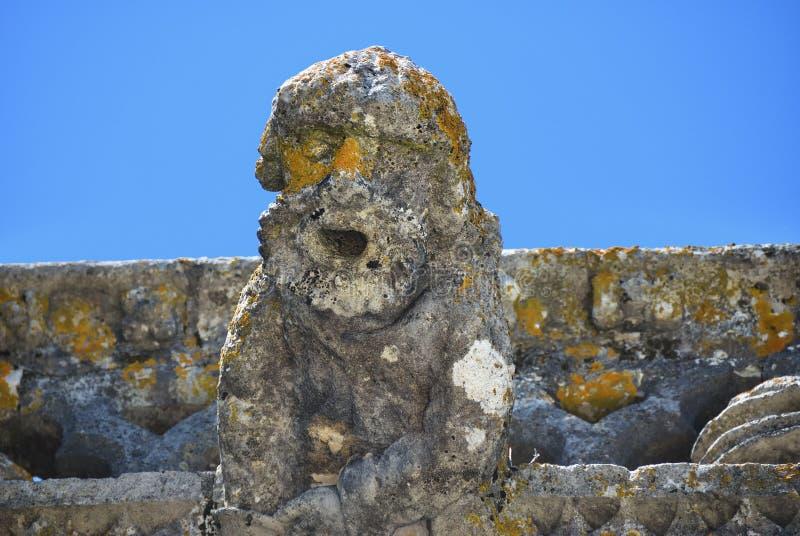 Vattenkastare i kloster av beställningen av Kristus, Tomar, Portugal, fotografering för bildbyråer