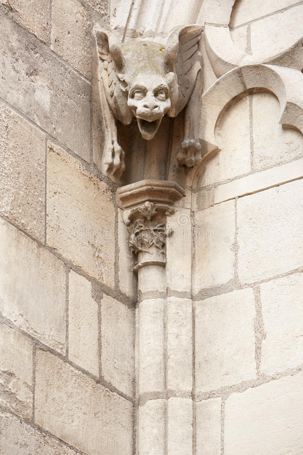 Vattenkastarestaty, Notre Dame de Paris arkivfoton