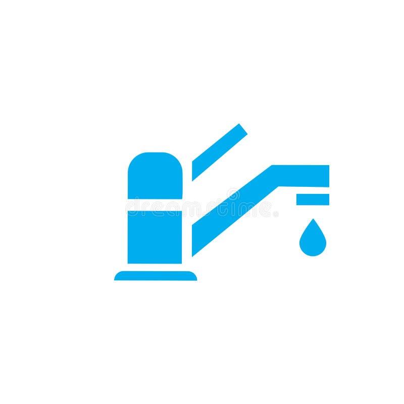 vattenkranar vektor illustrationer