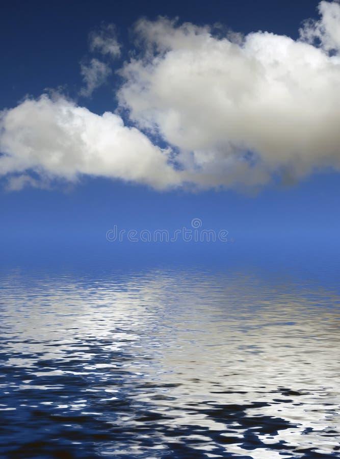 Vattenlandskap vektor illustrationer