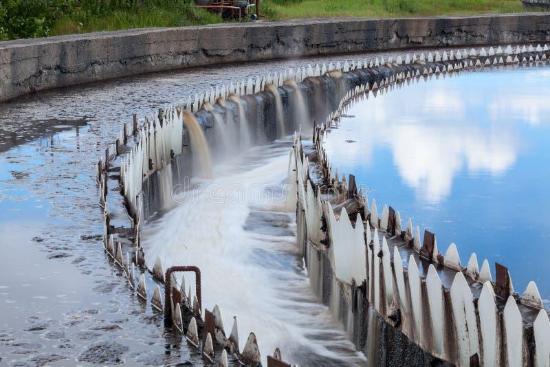Vattenlokalvård i nybyggare royaltyfri foto