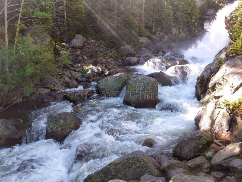 Vattennedgång royaltyfri bild