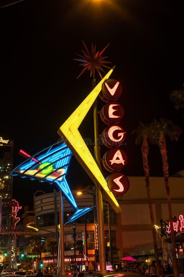 Vattenspringbrunn i Las Vegas royaltyfria foton
