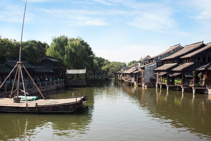 Vattenstad, Kina fotografering för bildbyråer