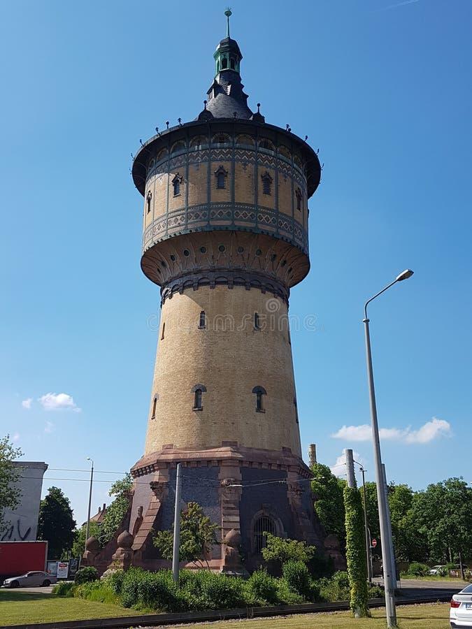 Vattentorn i Tyskland arkivfoton