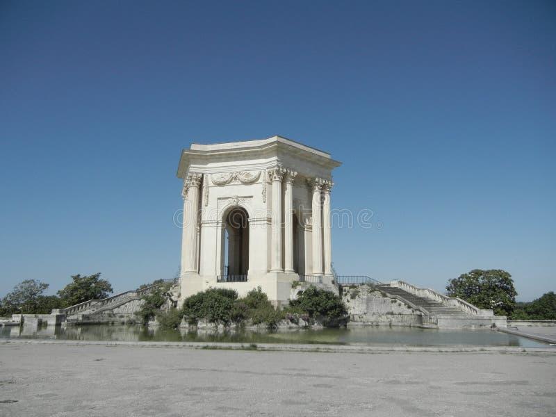 Vattentorn, Montpellier arkivfoton