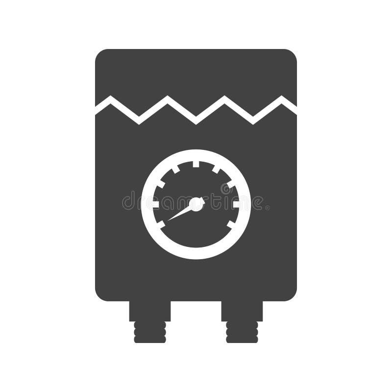 Vattenvärmeapparat stock illustrationer