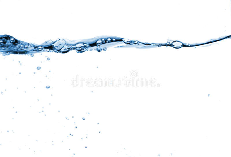 vattenwave royaltyfria foton