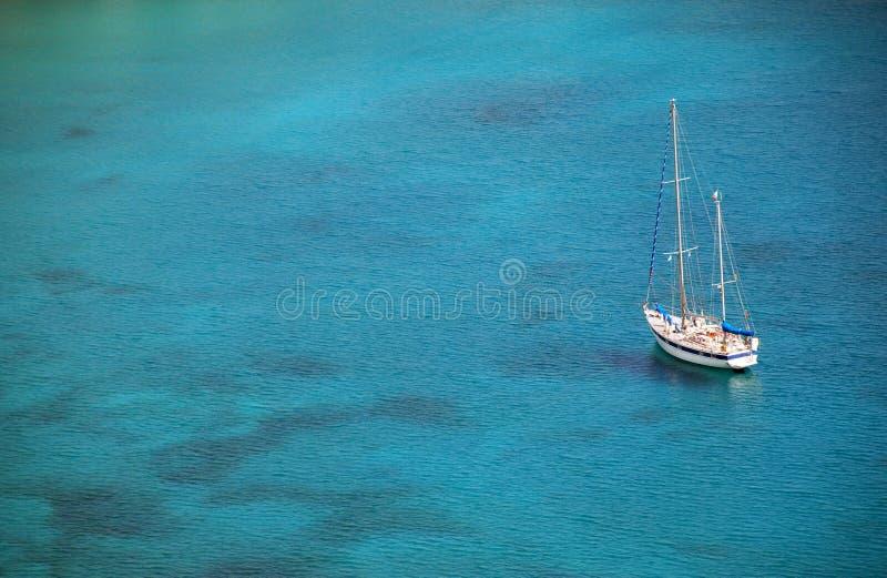 vattenyacht fotografering för bildbyråer