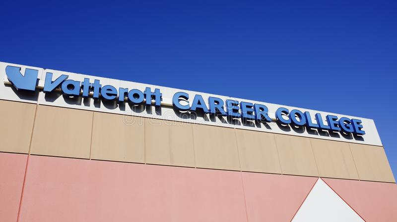 Vatterott karriärhögskola, Memphis, TN royaltyfri bild
