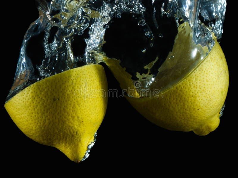 Vattnig citron VI arkivbild