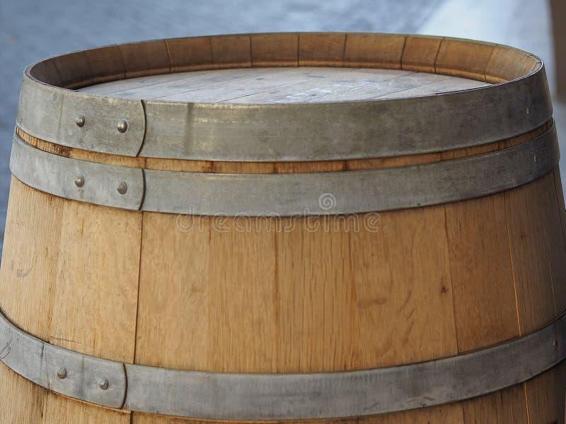 vatvat voor wijn stock fotografie